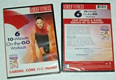 NEW Six 10 Minute On The Go Workouts DVD Cardio Core Buns Hot Spot Tamilee Webb in Plainfield, Illinois