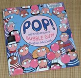 POP The Invention of Bubble Gum Hard Cover Book w Dust Jacket Ages 4-8 Simon & Schuster Vintage ... in Morris, Illinois