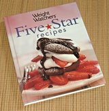 Vintage 2005 Weight Watchers 5 Star Cook Book Over 140 Top Rated Recipes Hard Cover in Morris, Illinois