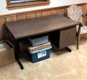 Metal Desk with Laminate Top in Bolingbrook, Illinois