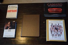 Hardcover Books: Michael Crichton, Basketball, George W. Bush, Camaro in Cary, North Carolina