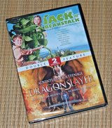 NEW 2 Movies Jack and the Beanstalk & Adventures of a Teenage Dragonslayer DVD in Chicago, Illinois