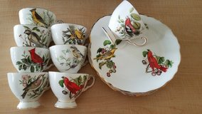 REDUCED!!! Tuscan Audubon Birds/Summer Tanager English Bone China service for 12 in Fairfax, Virginia