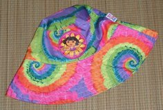 Nickelodeon Dora the Explorer Tie Dye Bucket Sun Beach Pool Hat One Size Girls in Chicago, Illinois