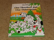 Vintage 1991 Walt Disney One Hundred and One Dalmatians Thick Hard Cover Book 101 in Chicago, Illinois