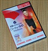 NEW Best Self Fitness DVD 6 10 Minute OnTheGo Workouts Cardio Core Buns Hot Spot in Oswego, Illinois