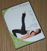 NEW 4-Disc Set NIP Beach Pilates DVD Workout Abs Buns Thigh Exercise Fitness Body Sculpt in Bolingbrook, Illinois