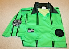 Official Sports International Soccer Referee Green/Black Short Sleeve Jersey, Large in Aurora, Illinois
