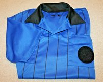 Veloce Soccer Referee Short Sleeve Jersey - Blue & Black, Medium in Joliet, Illinois