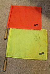 Official Sports International Soccer Referee Linesman Flags -Orange & Yellow in Naperville, Illinois