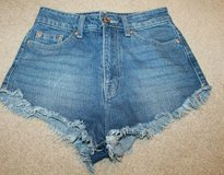 The Summer Festival Shorts - Urban Outfitters BDG Super High Dolphin Denim Cutoffs-- 24W in Glendale Heights, Illinois