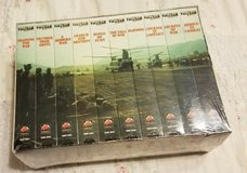 NEW Collectible Vietnam War In The Jungle Sealed Set Of 10 VHS Tapes in Chicago, Illinois