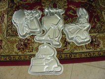 4 Wilton Cake Pans, 2-Pink Panther, 1-Bugs Bunny, 1-Garfield in Tinley Park, Illinois