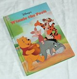 Vintage 1996 Disney Winnie The Pooh Mouse Works Over Sized Hard Cover Book in Oswego, Illinois