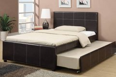 New! Twin Bed Frame + Trundle FREE DELIVERY in Camp Pendleton, California
