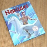 NEW Vintage 1997 Disney Hercules Hard Cover Book Special Edition w Poster RARE in Yorkville, Illinois
