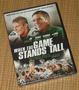 NEW When the Game Stands Tall DVD Inspired True Story Football Bob Ladouceur in Morris, Illinois