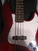 Squier Jazz Electric Bass Indonesia in Naperville, Illinois