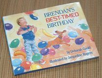 Vintage 1988 Brendans Best Timed Birthday Hard Cover Book w Dust Jacket Age Range 4 - 6 in Chicago, Illinois