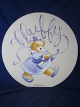 "Muffy Vanderbear Wall Hanging Picture 1995 LARGE 18"" dia ~ VINTAGE NEW in Chicago, Illinois"