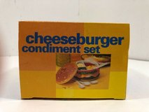 NEW Cheeseburger Condiment Set - 6 Piece in Morris, Illinois
