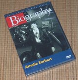 NEW Biography Amelia Earhart DVD A&E Award Winning Series Vintage 2005 OOP RARE in Morris, Illinois