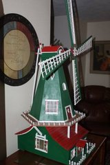 One of a Kind Working Electric Windmill in Spring, Texas