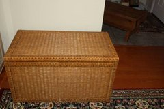 Large Wicker Chest in Houston, Texas