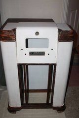 Vintage Radio Cabinet Shell Furniture Project in Houston, Texas
