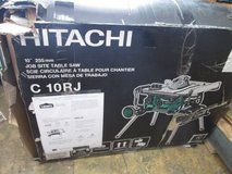 "Hitachi 10"" Job Site Table Saw in Cherry Point, North Carolina"