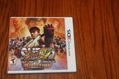 3DS Super Stree Fighter IV Complete in Spring, Texas