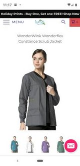 Wonderwink Scrub Jackets  Medium in Pearland, Texas