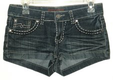 Free Culture FC Thick Stitch Denim Jean Shortie Shorts Womens 7 Juniors in Morris, Illinois