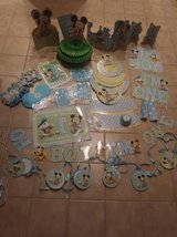 40+pc. Baby Mickey 1st Birthday Party Supplies LOT in Camp Pendleton, California