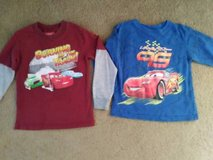 Disney CARS shirt LOT (size 4) in Vista, California