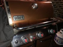 Weber Genesis Grill. Propane. With Tank and Cover in Lockport, Illinois