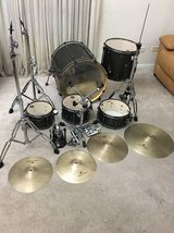 Tama 5pc Superstar Drum Kit -Powercraft 250 Hazy in Joliet, Illinois
