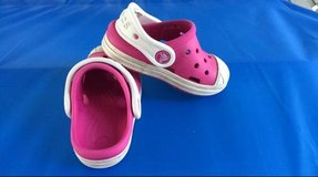 Toddler Pink Shoes (Crocs) in Fort Belvoir, Virginia