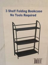 Brand New 3 Shelf Folding Bookcase in Algonquin, Illinois