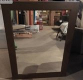 Dark Espresso Framed Mirror in Algonquin, Illinois