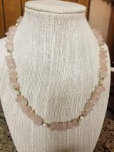 "Vintage 16"" Rose Quartz necklace in Camp Pendleton, California"