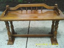 REDUCED....TABLE FOR THE FOYER  / HALL OR  SOFA in Tinley Park, Illinois