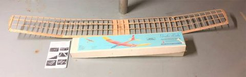 Vintage GLIDER Model Kit--GENTLE LADY--Carl Goldberg Flying SailPlane in Naperville, Illinois