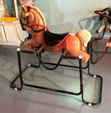 Vintage WONDER PRODUCTS Child's Rocking Horse - 1960's in Naperville, Illinois
