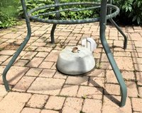 Heavy Duty Patio Umbrella Stand in St. Charles, Illinois
