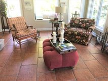 Beautiful Floral Accent Chair - Walter E. Smithe in Naperville, Illinois