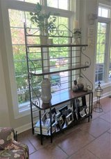 High Quality Baker's Rack - Wrought Iron & Wood in Naperville, Illinois