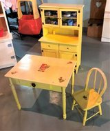 Child's Play Kitchen - Wood - Vintage - Custom Made in St. Charles, Illinois