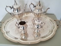 Academy Silver on Copper Tea Service... antique very rare in Fairfax, Virginia
