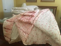 5 piece King Size reversable comforter set from Macy's in Fairfax, Virginia
